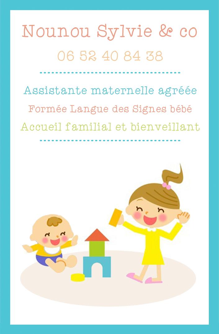 Modele Carte De Visite Assistantes Maternelles Mairie Identite Visuelle Version Demo